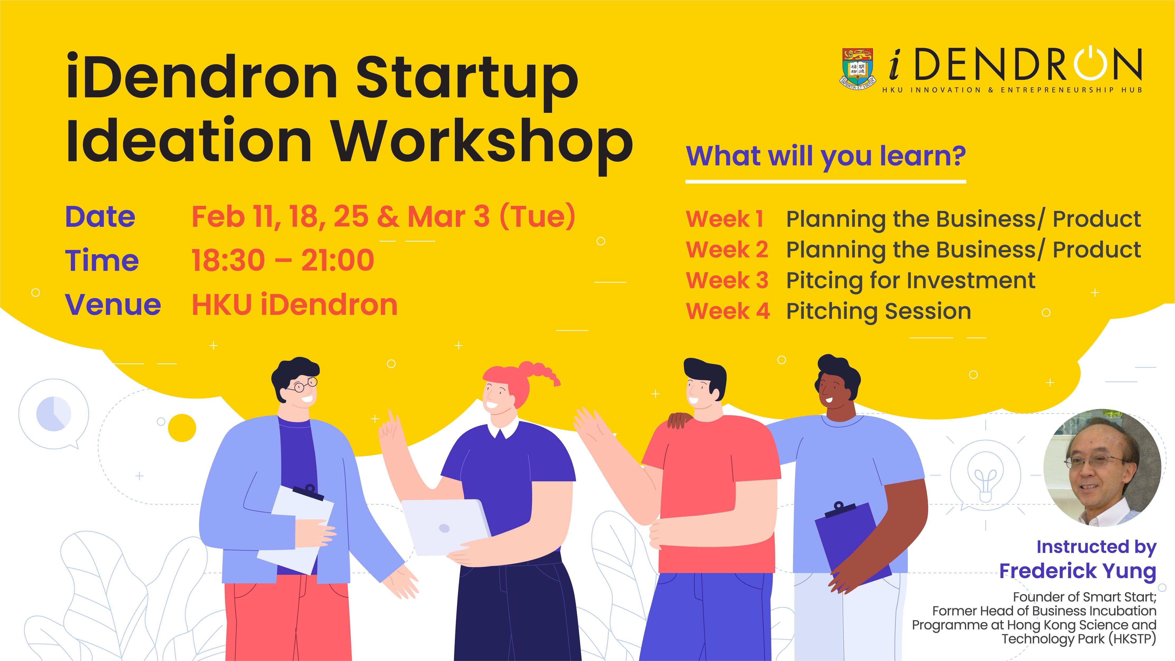 iDendron Startup Ideation Workshop